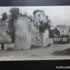 Postales: LOCHES FRANCIA ALREDEDORES DE LA TORRE DE LUIS XI. Lote 191030590