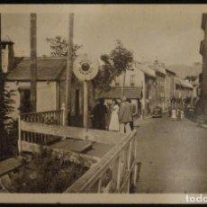 Postales: BOURG- MADAME, ENTRADA AL PUEBLO VINIENDO DE ESPAÑA POR PUIGCERDA. POSTAL SIN CIRCULAR. Lote 191211338