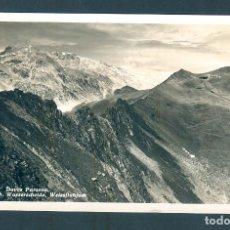 Postales: NUMULITE * DAVOS PARSENN WEISSFLUH WASSERCHEIDE WEISSFLUHJOCH. Lote 191218875