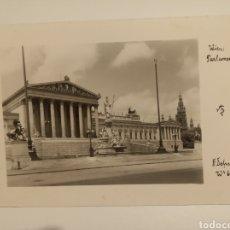Postales: VIENA PARLAMENTO. Lote 191220886