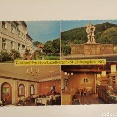 Postales: GASTHOF LAZELBERGER. Lote 191223782