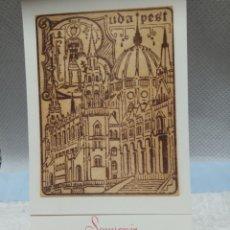 Postales: BUDAPEST. Lote 191304778