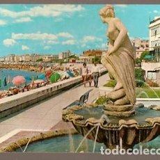 Postales: ITALIA & CIRCULADO, PLAYA PONENTE, STA- MARGHERITA, NOISY-LE-SEC FRANCIA 1969 (7688). Lote 191351846