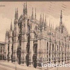 Postales: ITALIA & CIRCULADO, DUOMO MILÁN, WORCESTERSHIRE, BROADWAY INGLATERRA 1909 (740). Lote 191360992