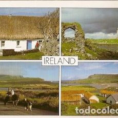 Postales: IRLANDA & CIRCULADO, MULTI IRLANDAA NOISY-LE-SEC FRANCIA 1998 (253). Lote 191362992