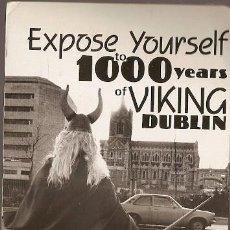 Postales: IRLANDA & CIRCULADO, EXPONERSE A 1000 AÑOS DE VIKINGO, DUBLÍN A HARTENSTEIN ALEMANIA 1989 (6866). Lote 191363430