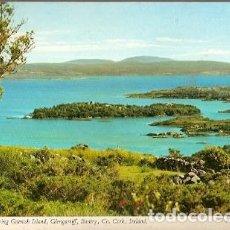 Postales: IRLANDA & CO. CORK, GLENGARRIFF BANTRY BAY, ISLA GARINISH, ALDEIA DE JUZO, CASCAIS 1982 (7997). Lote 191363780