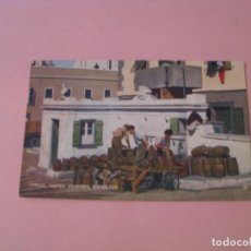 Postales: GIBRALTAR. TYPICAL WATER VENDORS. ED. REX TOBACCONIST.. Lote 191491645