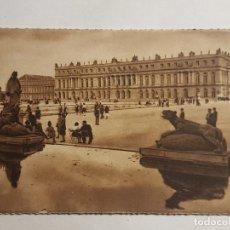 Postales: PARIS VERSALLES JARDIN Y FACHADA SUR FRANCIA. Lote 191563726