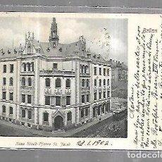 Cartes Postales: TARJETA POSTAL. ALEMANIA. BRUNN. NEUE STADT-PFARRE ST. JACOB. 3242. VERLAG. Lote 191670105