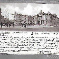 Cartes Postales: TARJETA POSTAL. ALEMANIA. BRUNN. INDUSTRIEBEAMTENPALAIS. STADT-THEATER. 2724 F. C.LEDERMANN JR. Lote 191670145
