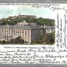 Cartes Postales: TARJETA POSTAL. ALEMANIA. BRUNN. K.K.TECHNISCHE HOCHSCHULE. VERLAG. Lote 191670187