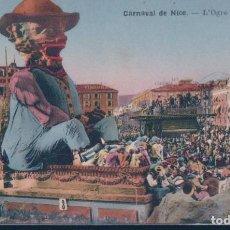 Postales: POSTAL CARNAVAL DE NICE - L'OGRE - GRAND CHAR. Lote 191710426