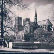 Postales: POSTAL PARIS - NOTRE DAME - LES QUAIS ET LES BOUQUINISTES - EDITIONS DE LUXE - CIRCULADA. Lote 191832497