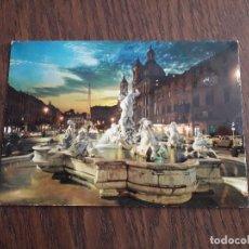Postales: POSTAL DE ROMA, PLAZA NAVONA. ITALIA.. Lote 191934711