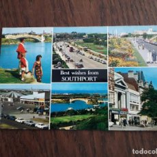 Postales: POSTAL DE SOUTHPORT, INGLATERRA.. Lote 191935473