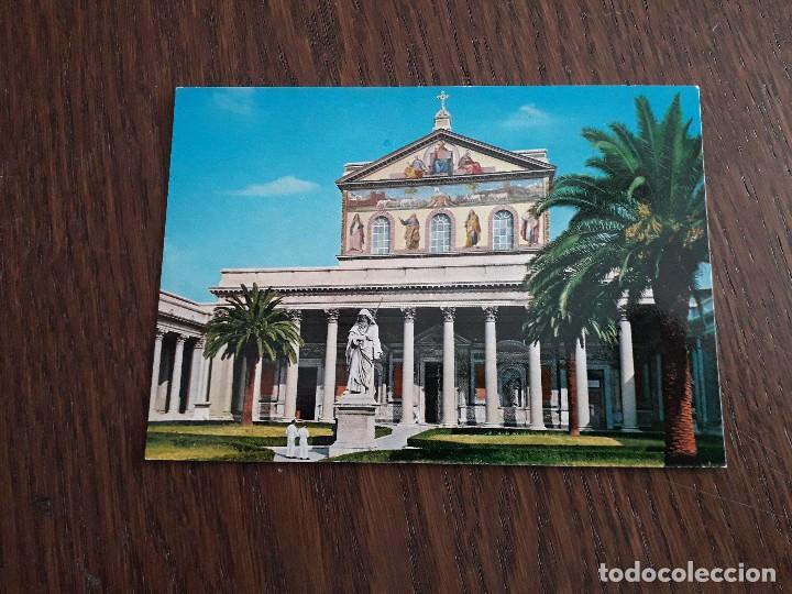 POSTAL DE BASÍLICA DE SAN PAOLO, ITALIA. (Postales - Postales Extranjero - Europa)