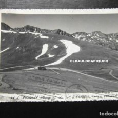 Postales: ANDORRA. SOMMET DU COL D'ENVALIRA. VELOVEROL. CIRCULADA 1943. VALIRA. CCTT. Lote 192349840