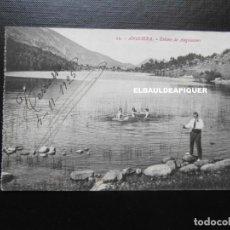 Postales: 12 ANDORRA. ESTANY DE ANGOLASTERS. CIRCULADA 1925. CCTT. Lote 192349997