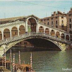 Cartes Postales: ITALIA, VENECIA, PONTE DI RIALTO - EDIC. G.GERLIN 19 - S/C. Lote 192813918