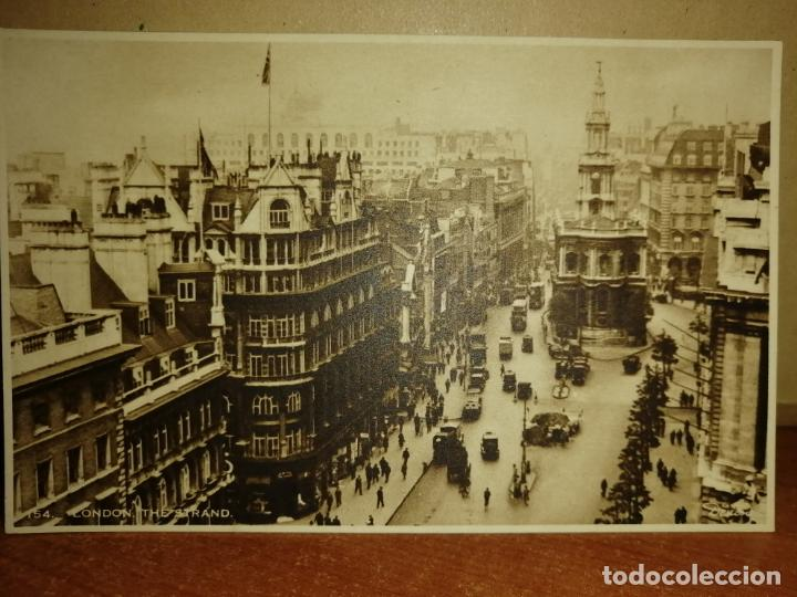 FOTO POSTAL LONDON 145 THE STRAND. J. ARTHUR DIXON. S/C (Postales - Postales Extranjero - Europa)