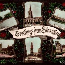 Postales: STAMFORD. REINO UNIDO. Lote 192990030