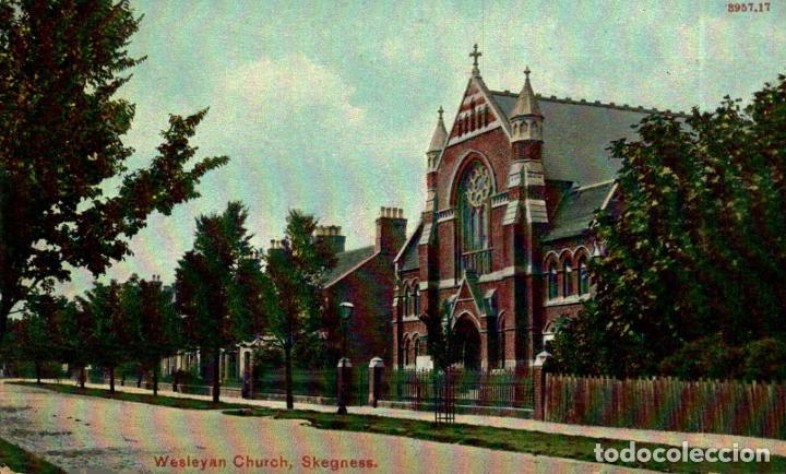 WESLEYAN CHURCH, SKEGNESS. REINO UNIDO (Postales - Postales Extranjero - Europa)