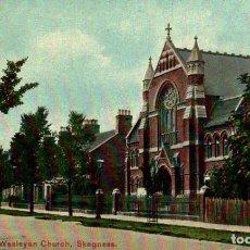 Postales: WESLEYAN CHURCH, SKEGNESS. REINO UNIDO. Lote 192990127