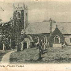 Postales: LEA CHURCH, NEAR GAINSBORONGH. REINO UNIDO. Lote 192990221