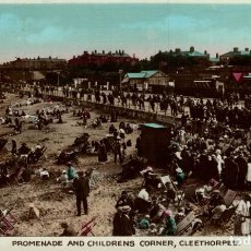 Postales: PROMENADE AND CHILDRENS CORNER, CLEETHORPES. REINO UNIDO. Lote 192990290