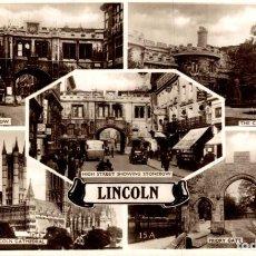 Postales: LINCOLN. REINO UNIDO. Lote 192990381