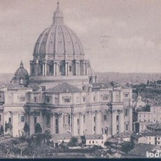 Postales: POSTAL ROMA - BASILICA DI S PIETRO - PARTE POSTERIORE - CUPOLA DI MICHELANGELO - 6693 BRUNNER & CO . Lote 193053868