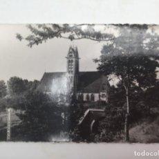 Postales: POSTAL. LA IGLESIA Y EL TÚNEL, HERICY, SUR DE SIENA. 1960. Lote 193078690