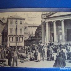 Cartes Postales: (PS-62908)POSTAL DE GENOVA-IL MERCATO ALLA PIZARRA DELLA MUNZIATA. Lote 193713375