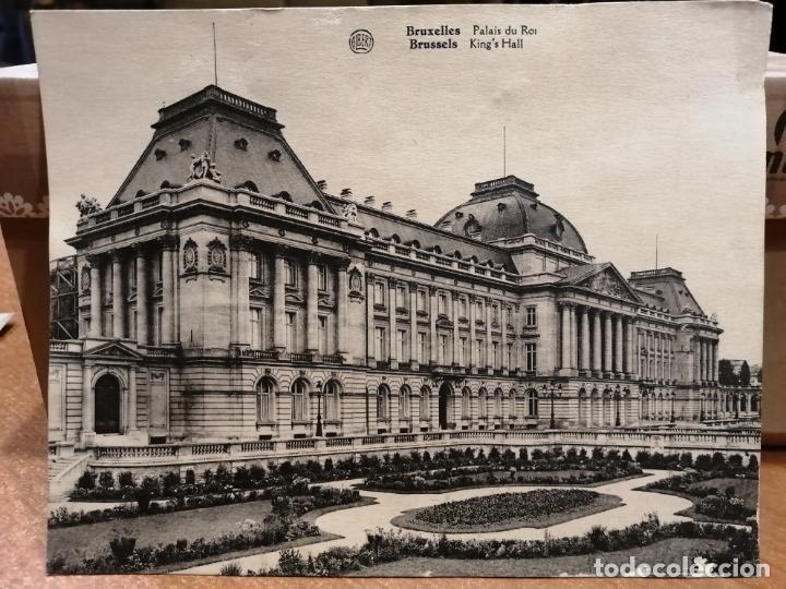 FOTO POSTAL BRUXELLES.PALAIS DU ROI. 17.5*13.5 CM SIN CIRCULAR. ALBERT (Postales - Postales Extranjero - Europa)
