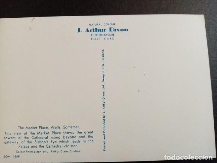 Postales: Postal Reino Unido. J. Anthur Dixon. Circa 1947 (Serie Som 1668) Sin Circular. The Market Place, Wel - Foto 2 - 194011131