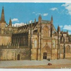 Postales: POSTAL DE PORTUGAL-COLECCION DULIA- Nº 278- MONASTERIO DE BATALHA- FACHADA PRINCIPAL-SIN CIRCULAR. Lote 194222310