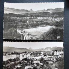 Postales: 3 POSTALES DE PAU ( FRANCIA ), SIN CIRCULAR . Lote 194223515