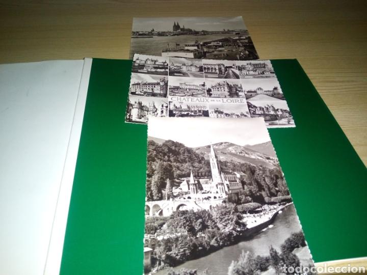 LOTE DE 3 POSTALES DE ALEMANIA Y FRANCIA. KOLN, LOURDES Y LOIRE. AÑOS 50 (Postales - Postales Extranjero - Europa)