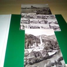 Postales: LOTE DE 3 POSTALES DE ALEMANIA Y FRANCIA. KOLN, LOURDES Y LOIRE. AÑOS 50. Lote 194224376