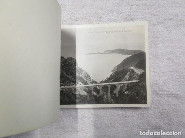 Postales: BLOCK COMPLETO 20 POSTALES FOTOGRAFICAS EXCURSION DE LA GRAN CORNICHE ALPES FRANCIA + - Foto 2 - 194237775