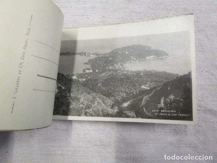 Postales: BLOCK COMPLETO 20 POSTALES FOTOGRAFICAS EXCURSION DE LA GRAN CORNICHE ALPES FRANCIA + - Foto 3 - 194237775