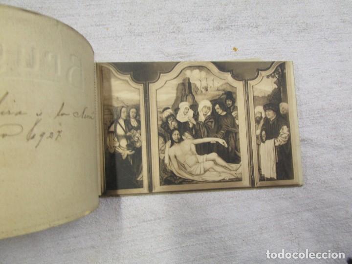 Postales: BLOCK COMPLETO 10 POSTALES 1927 BRUJAS BRUGES BASILIQUE DU SAINT SANG PINTURA BELGICA + - Foto 2 - 194238126