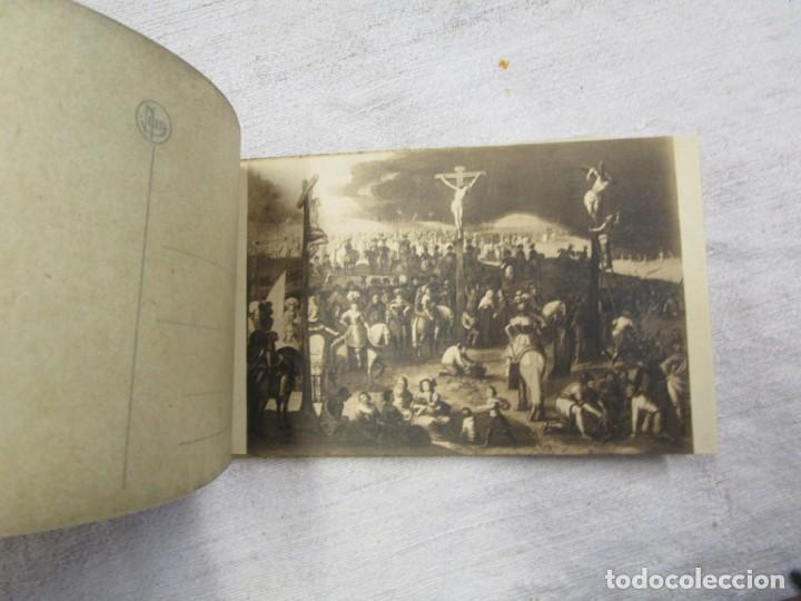 Postales: BLOCK COMPLETO 10 POSTALES 1927 BRUJAS BRUGES BASILIQUE DU SAINT SANG PINTURA BELGICA + - Foto 3 - 194238126