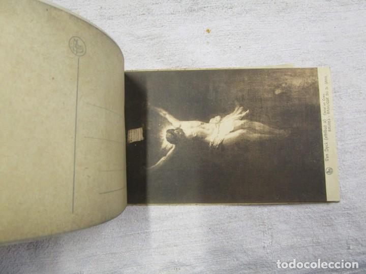 Postales: BLOCK COMPLETO 10 POSTALES 1927 BRUJAS BRUGES BASILIQUE DU SAINT SANG PINTURA BELGICA + - Foto 4 - 194238126