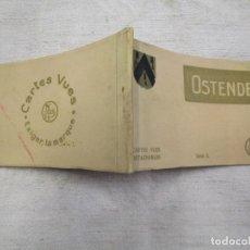 Postales: BLOCK COMPLETO 10 POSTALES 1927 ' OSTENDE OOSTENDE ' MUY ANIMADAS, BELGICA BELGIUN +. Lote 194238615