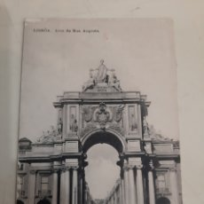 Postales: LISBOA ARCO RUA AUGUSTA. Lote 194266877