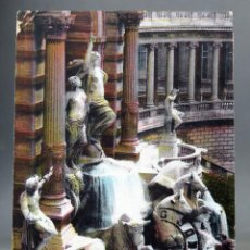 Postales: POSTAL MARSEILLE FRANCIA PALAIS LONGCHAMP DÉTAIL PARTIE CENTRALE STATUES LL CIRCULADA SELLO 1913. Lote 194291798