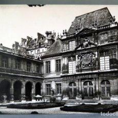 Postales: POSTAL PARÍS MUSEE CARNAVALET PAVILLON DES DRAPIERS BULLOZ ESCRITA. Lote 194292018