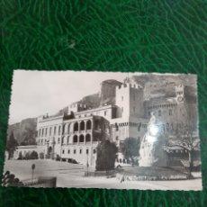 Postales: 1956 MONACO PALACIO PRÍNCIPE. Lote 194307286